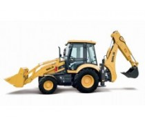 Shandong Lingong backhoe loader B877