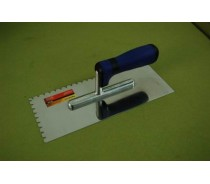 PLASTERING TROWEL WITH PLASTIC HANDLE-DOUBLE TYC007