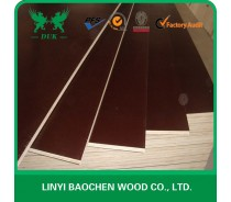 Brown 18mm film faced plywood