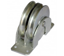 YJ203 MOUNTED DOUBLE PULLEY