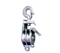 WST120 RIGGING BLOCK DOUBLE WITH HOOK