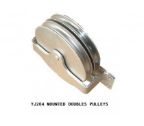 YJ204 MOUNTED DOUBLE PULLEYS