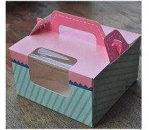 Bakery Foldable Cake Boxes Retail Factory