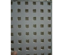 Quality perforated gypsum tile for suspension