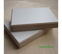 White melamine plywood/ melamine faced plywood sheet