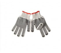 Hot Sell PVC DOT Cotton Gloves on Palm