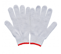 Hot Sell White Cotton Garden Hand Gloves