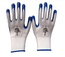 Working Nitrile Coated Hand Gloves