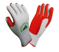 China Rubber Coated Cotton Gloves