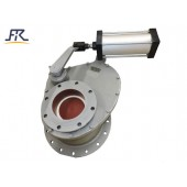 Anti wear ceramic rotary gate valve