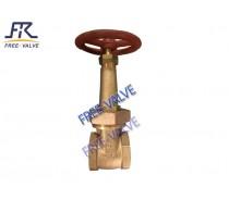 bronze thread gate valve with rising stem