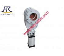 Ceramic Gate Valve with Blow-Sweep Hole