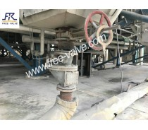 Ceramic light Discharging Knife Gate Valve