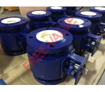 Flange Type Ceramic Lined Ball Valve