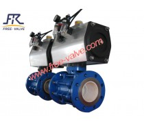 Ceramic Lined Composite Ball Valve