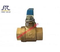 full port bronze ball valve