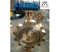 bronze flange butterfly valve