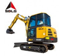 SDLG 635F Competitive Price crawler excavator machine