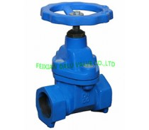 DIN CAST IRON GATE VALVE,THREAD ENDS,PN16