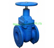DIN CAST IRON METAL SEAT,GATE VALVE,LIGHT TYPE, NRS PN10