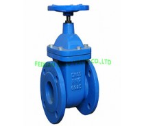 DIN CAST IRON NON-RISING STEM GATE VALVE,F4(B) PN16