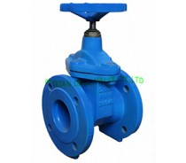 DIN CAST IRON GATE VALVE,RESILIENT SEATED,F4,NRS,PN16
