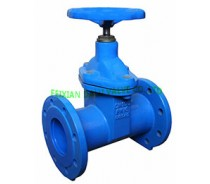 DIN CAST IRON GATE VALVE,RESILIENT SEATED,F5,NRS,PN16