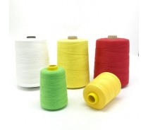 20s 6 ply spun polyester bag sewing thread  for bag sewing