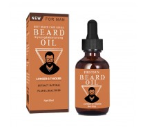China manufacturer flat packing custom beard oil box