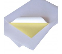 cast coated paper China self adhesive paper supplier