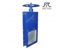 Pneumatic Square Port Carbon Steel Knife Gate Valve