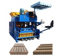 mobile concrete hollow block cement brick making machine
