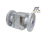 Lined Flanged Floating Ball Check Valve