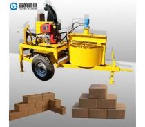 M7MI semi-automatic soil interlocking brick machine
