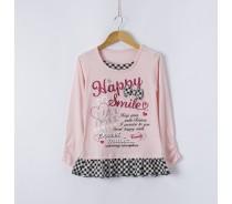 girl's knitting shirt