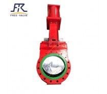 Wear Resistant Polyurethane Lined  Knife Gate Valve