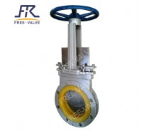 PU Rubber Lined Knife gate Valve