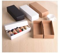 Custom White Cardboard Sock Packaging Box, Gift Box