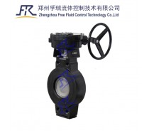Lug wafer type Double Offset Butterfly Valve Lug Type