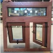 Customer Made Wood Aluminium Casement Windows for Caribbean