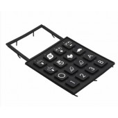 Black Silicone Kepads with Many Keys