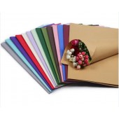 Wholesale Dried Flower Package Wrapping Kraft Paper