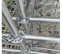 Standards Layher Ringlock Scaffolding
