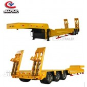2/3/4 Axles Drop Deck 50/60ton  Truck Trailer for Sale