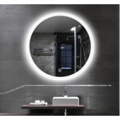 Hotel Bathroom Illuminated Backlit Rectangle LED Mirror