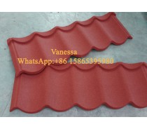 Stone coated metal roofing tile Rainbow tile