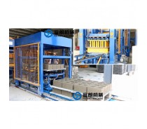 Fully automatic cement hollow block brick machine