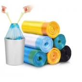 Biodegradable Garbage Bags with Drawstring