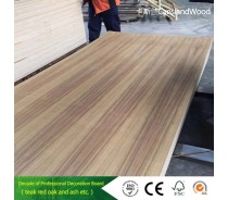 11mm Hardwood White Oak Veneer Decorative Fancy Plywood