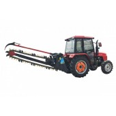 Large chain trencher